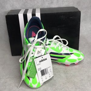 Adidas Soccer Cleats Youth Sz 1 1/2 Style F10 FG J